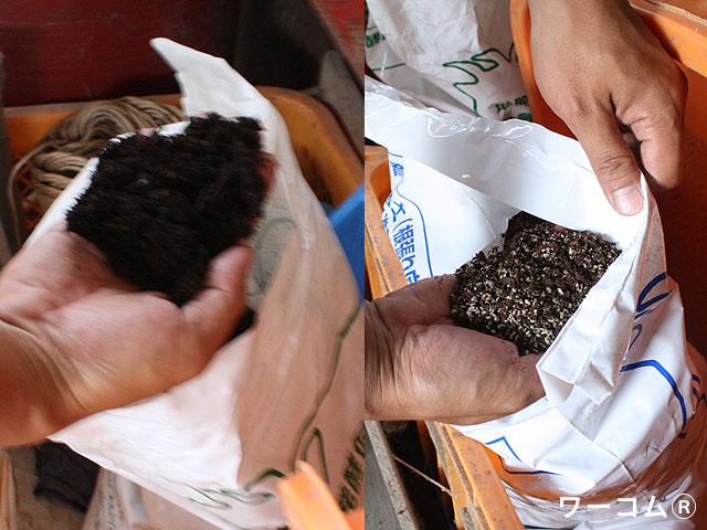 ワーコムを使った土壌開発